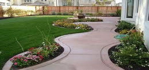 Faire une allée en béton pour le jardin, le garage, avec ...